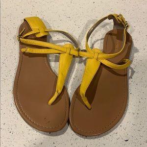 Yellow Sandals!